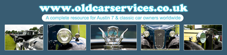 Old Car Services - Austin Seven